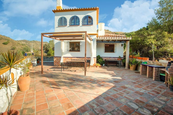 Secluded Holiday Home in Malaga with Private Pool