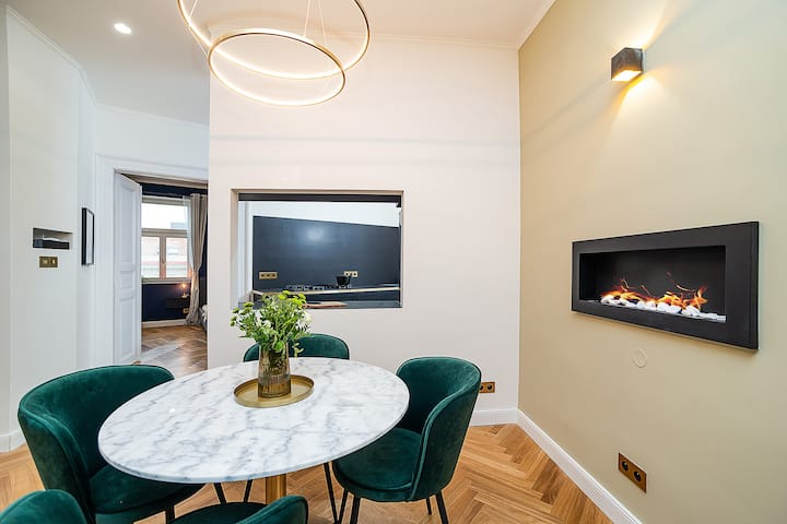 Modern and high-end apartment in heart of Prague