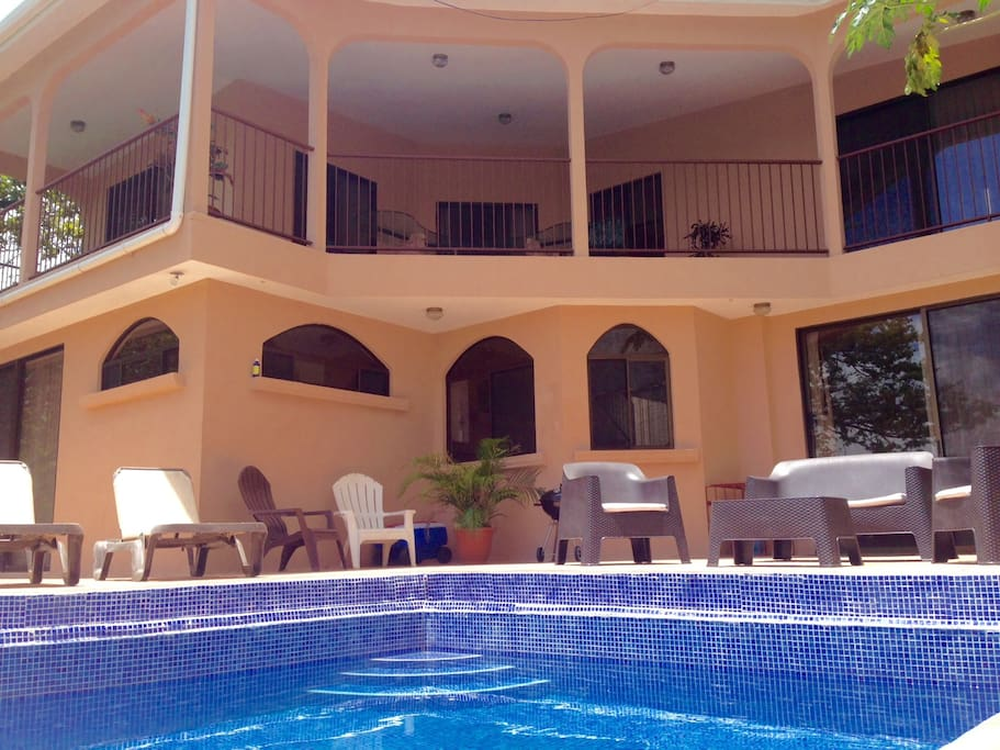 Our swimming pool area