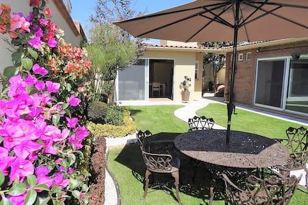 Comfortable Loft, garden view fully independient. - Metepec