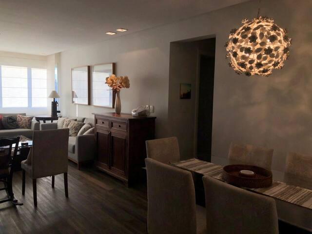 Apartamento aconchegante e com lindo por do sol!