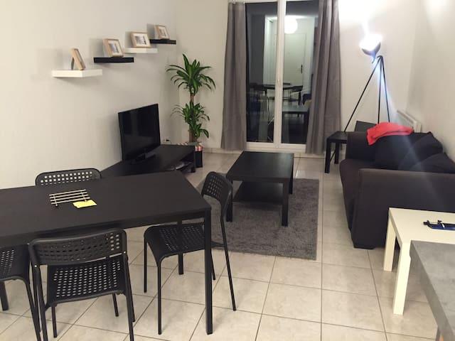 Beau T2 de 40 m2 avec balcon - Clermont-Ferrand - Leilighet