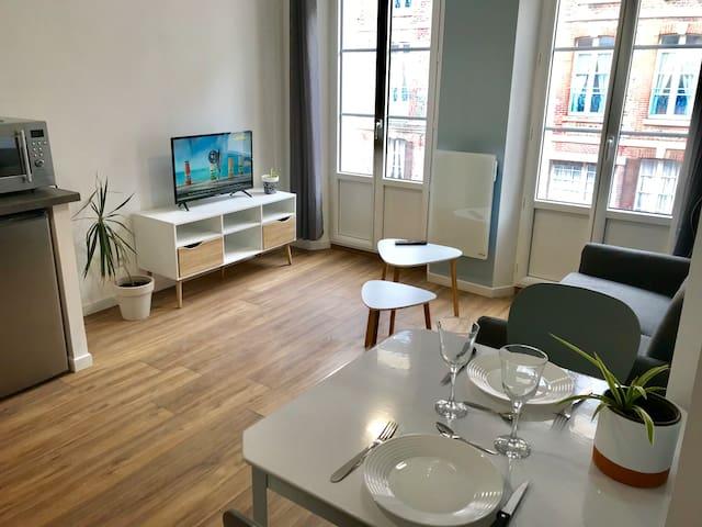 Appartement * Le Musoir * avec balcon vue mer