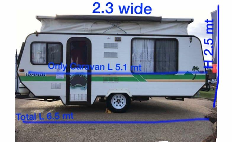 AirMum&Dad Urban Retro Caravan near Melb CBD