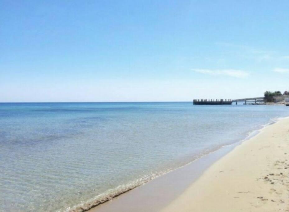 Spiaggia a 100mt