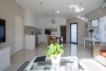 Modern, spacious apartment