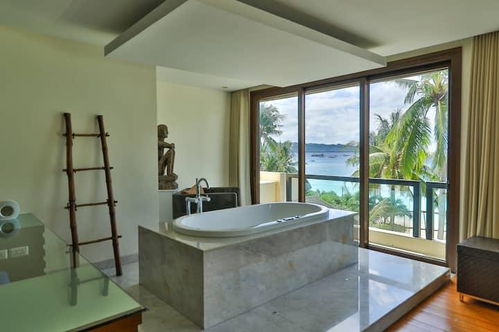 Boracay Beach Houses - Nice view of the beach