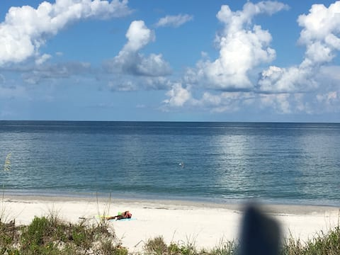 Beautiful Gulf just steps from your door