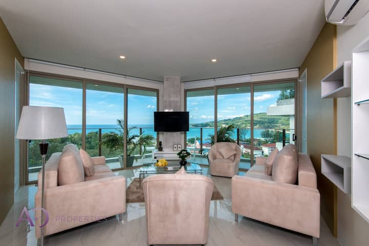 Luxury Perfect Panoramic Sea View 2 Bedrooms