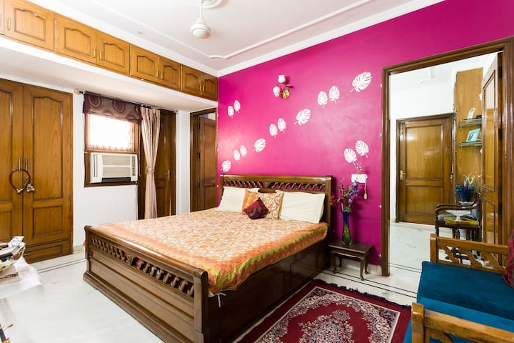 Peaceful homely stay, Central Delhi.