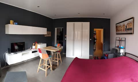 STUDIO COOL & SYMPA (avec jardin) à Namur-centre !