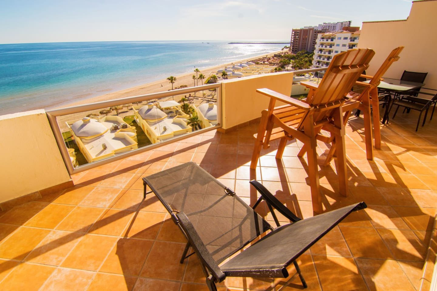 Great Panoramic view of the Sea of Cortez from the Balcony