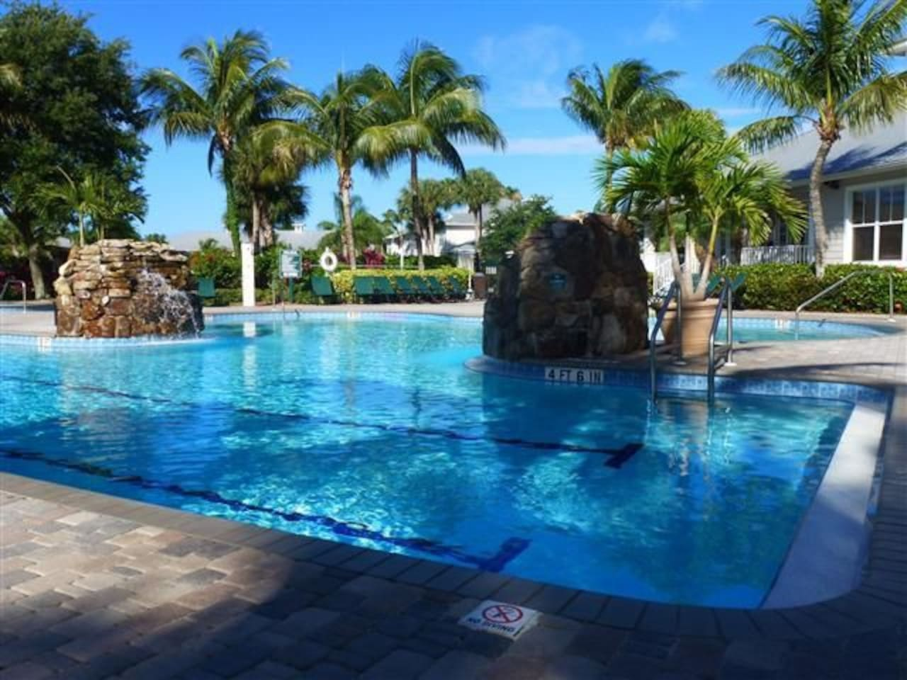 Pool is a convenient 2 minute walk from the condo.  Cooler provided to bring your own beverages to enjoy at the pool.