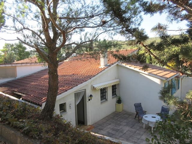 Lovely villa, set in 1300 square metres of garden. - Pouzols-Minervois - House
