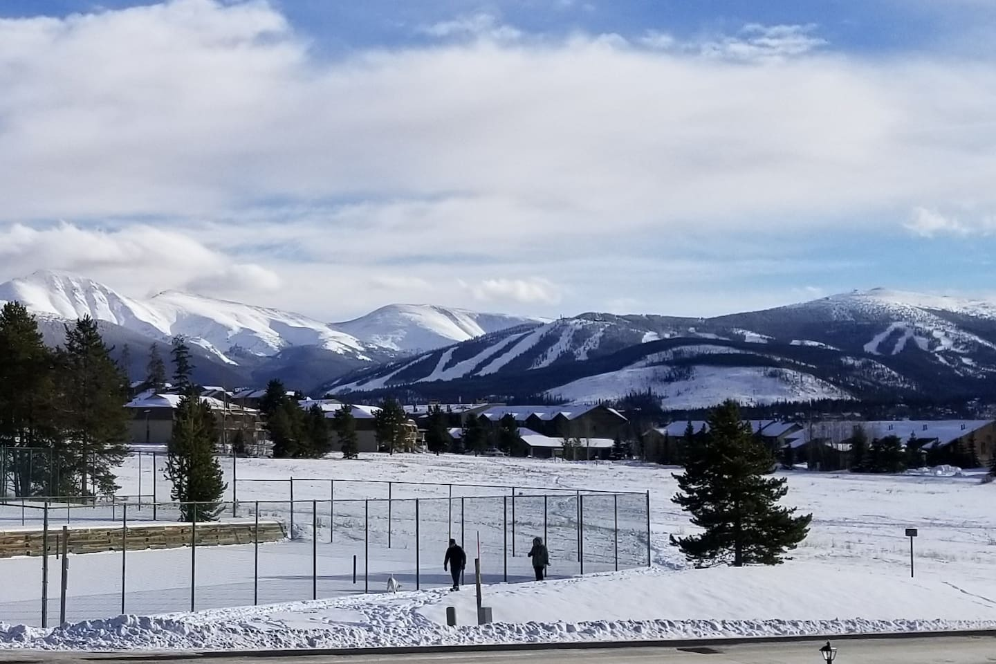 View of Winter Park Resort from Deck