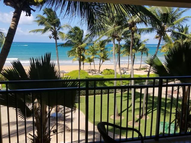 Amazing View Ocean Villa-Beachfront Inside Wyndham