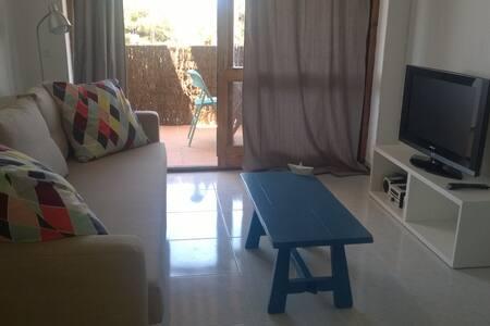 Acogedor apartamento Cala Blanca - Ciutadella de Menorca