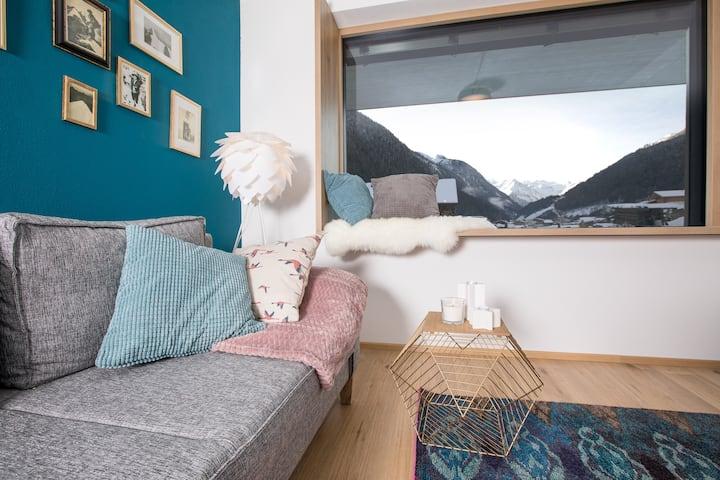 Appartement Alpennest Stubai- mit Gletscherblick
