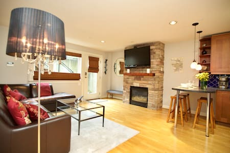 Private, Modern, 1 bed, 1 bath, and kitchen