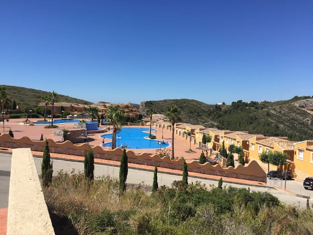 Apartment Montecala with stunning views