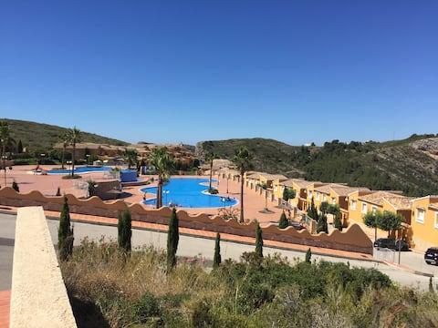 Apartment Montecala with stunning views