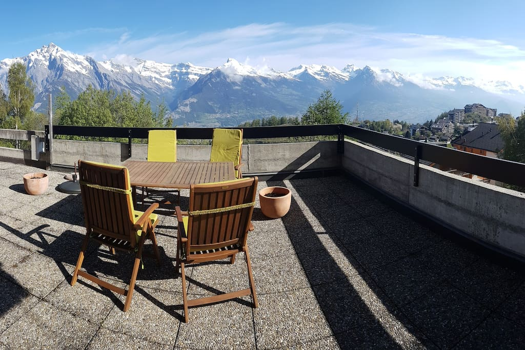 Terrasse, with BBQ, 20m2