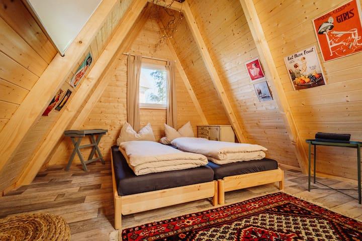 Haus Anna Elbe Waldhütte Villa Treibgut