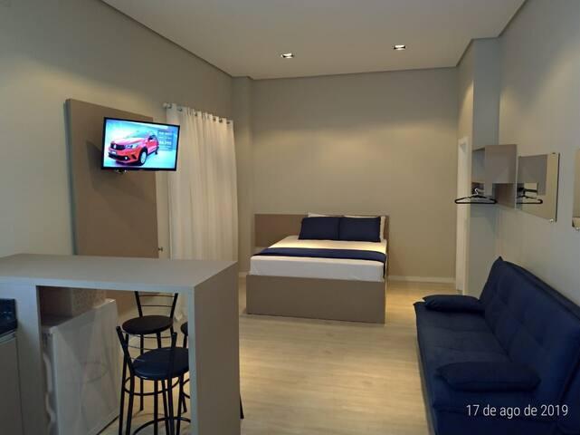 Apartamento LOFT nobre no Centro Montenegro AP 304