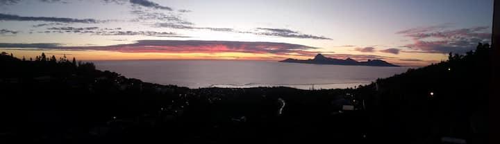 Tahiti Sunset Punavai appartement entier