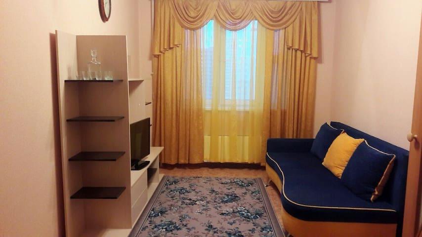 Квартира в новом микрорайоне с видом на реку - Nizhnij Novgorod - Apartmán pro hosty