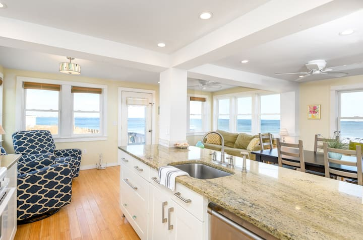 The Beach House.  Oceanfront & Sunrise Views!