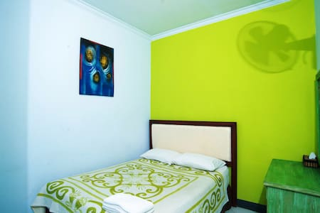 Junior Standard at Sendok Hotel & Restaurant - Batu Layar - Bed & Breakfast