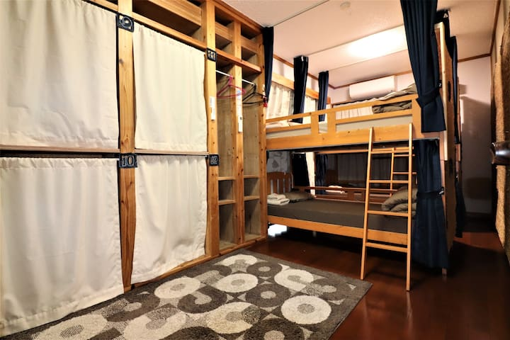 Male&Female Dormitory♪Guesthouse☆Center of Nago☆