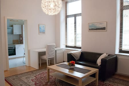 Cozy modern flat in the centre near train station - Лейпциг - Квартира