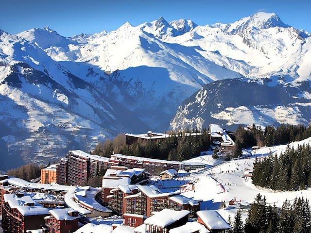 Confortable studio de 30 m2 vue Mont Blanc