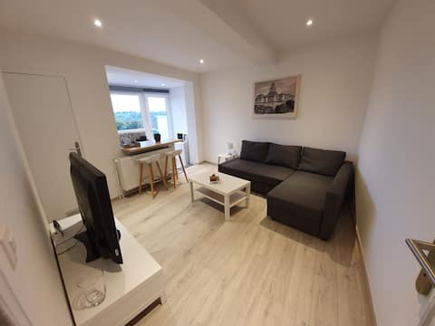 Fully renovated quiet apartment next to Brussels