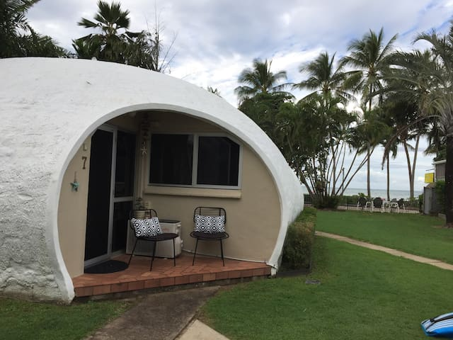 'Dome By The Sea' a unique stay at Trinity Beach