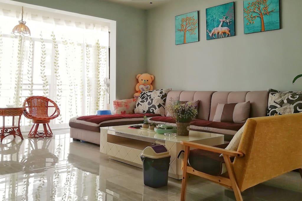 客厅超大舒适沙发