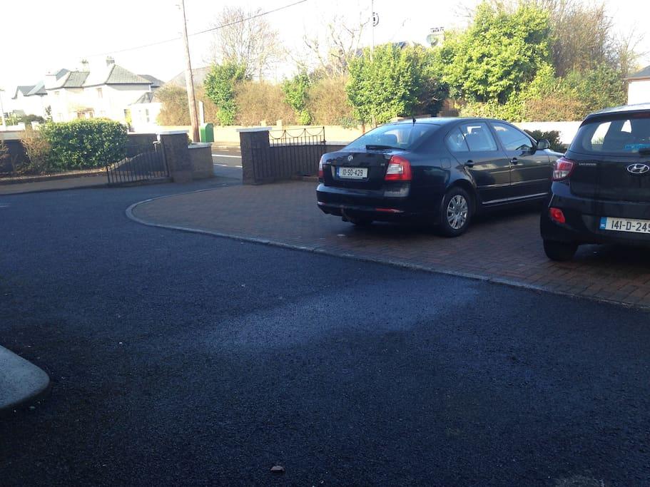 Private Car Parking.