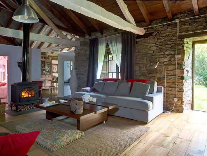 Stunning restored mill