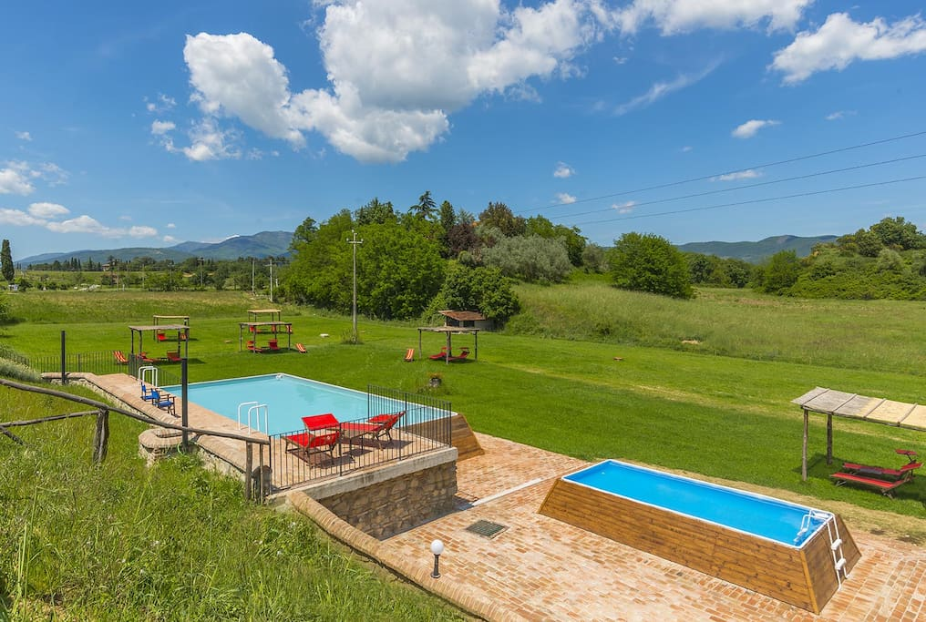 Casa vacanze Le Fornaci - Our swimming pools