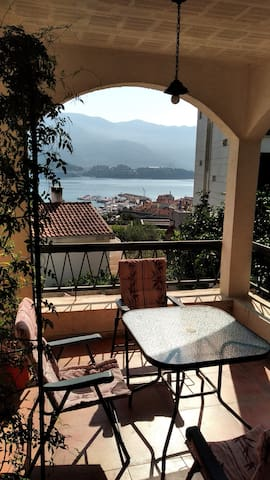 Apartment in Budva with sea view