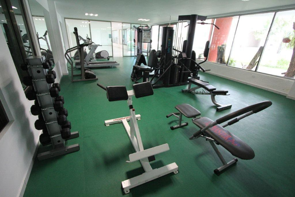 Gym in the bulding