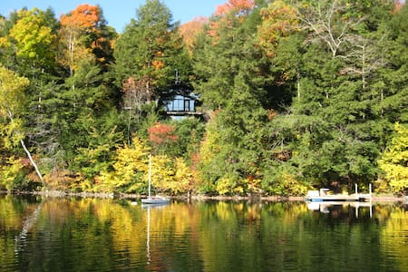 Family home on Lake Beebe - Hubbardton - Σπίτι