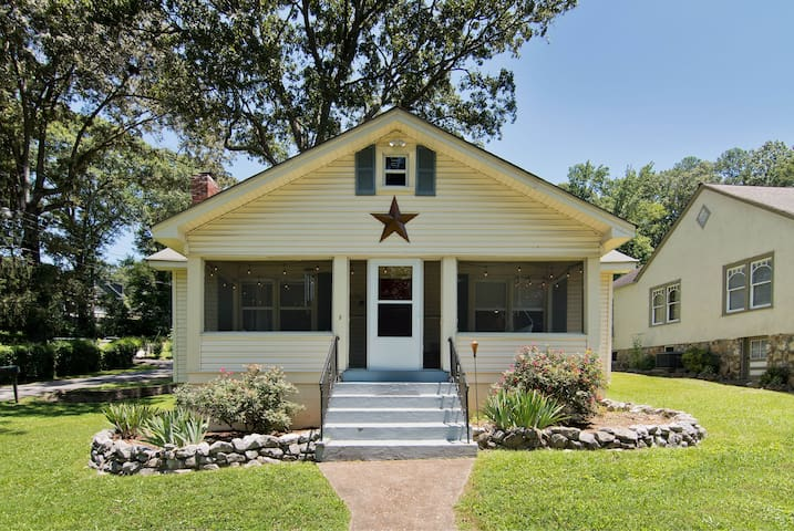St Elmo Charming Cottage- 2BR w/ Screened-in Porch