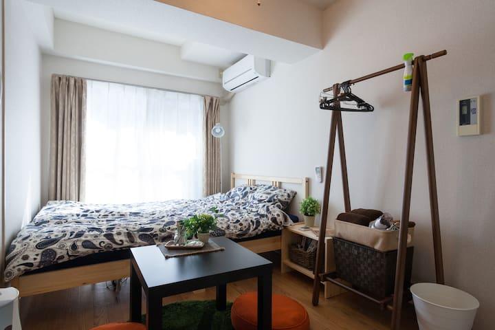 【5min's SHIBUYA】Free Portable Wi-Fi/Cozy&Stylish!! - Setagaya-ku - Apartament