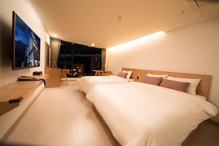 (U)PINO HOTEL-Deluxe Twin Ocean View