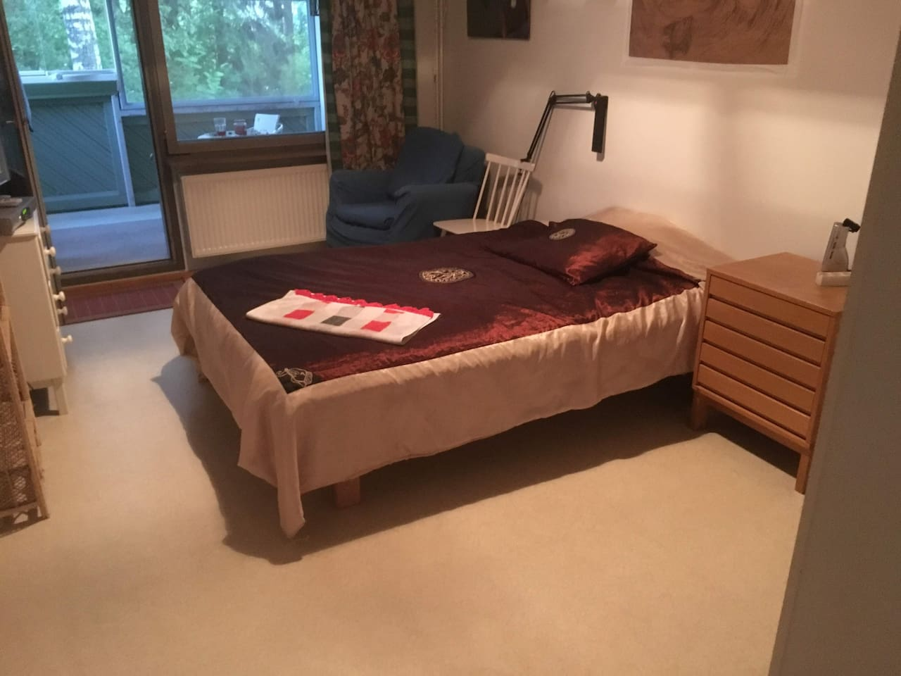 Guest Bed room and balcony