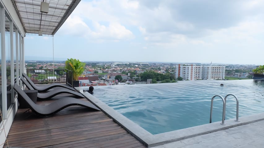 Studentpark apartemen Yogyakarta (1) - free WIFI
