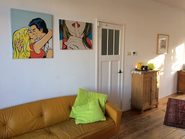 Cozy home near Amsterdam, Beach, bikes included! - Haarlem - Loft